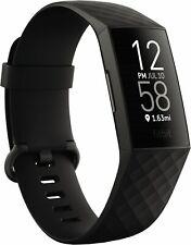 Fitbit Charge 4 Aktivitätstracker - Schwarz (FB417BKBK)