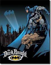 Batman Poster The Dark Night Metal Wall Sign DC Comics Retro Tin 40x31.8cm 1356