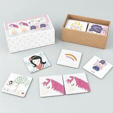 Hilo & Rock 18 pares que empareja tarjetas de memoria juego Unicornio Niñas Regalo educativo