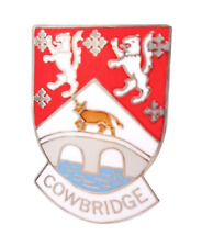 Cowbridge Vale of Glamorgan Wales Small Crest Town Pin Badge
