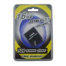 Carte mémoire 16 MB pour GameCube - Neuf - Vendeur Pro Français !