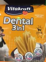 Lot Revendeur De 13 Paquets De 120 Gr De Fun Dental Chien 3 En 1 Extra