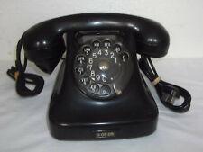 FÜR SAMMLER: SCHÖNES ALTES BAKELIT TELEFON AUS DÄNEMARK #9127