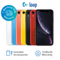 Apple iPhone XR 64GB 128GB 256GB Network Unlocked *All Colours Available*