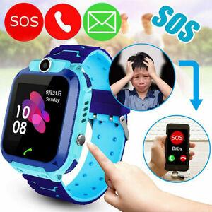 Wasserdichte Kinder Smartwatch 2G/3G Telefon Uhr Handy Tracker SOS Voice Kamera