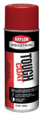 KRYLON Bright Red Tough Coat Acrylic Enamel Spray Paint, 12oz, 1005