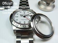 Antigraffio Zaffiro Prospettiva Case-Back per Rolex Explorer II #16570