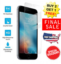 High Quality Premium Real Tempered Glass Screen Protector for iPhone 6/6s