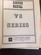 Hammond Manuel Vs Series
