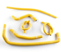 2008-2015 CAN AM DS 450 DS450 ATV Silicone Radiator Coolant Hose Kit Yellow