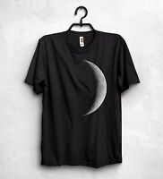 Moon T Shirt Top The Dark Side of the Moon Lunar Eclipse Pink Floyd Fashion Gift