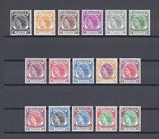 MALAYA/PENANG 1954-57 SG 28/43 MNH Cat £70