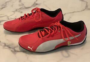 Puma Scuderia Ferrari SF Drift Cat 5 NM Shoe Sneaker 306471-01 Red Mens Size 9