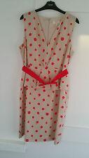 Ladies Next Petite Peplum Style Smart Dress Size 14