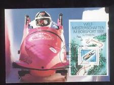 Bobsport II WM Altenberger Kunstbahn  Maxik.1991