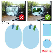 Protective Sticker Hydrophobic Rainproof  Car Rearview Mirror Film Anti-Fog
