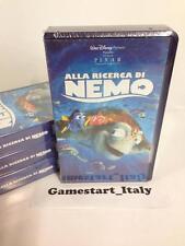 ALLA RICERCA DI NEMO - DISNEY - VHS - NUOVO SIGILLATO VERSIONE ITALIANA