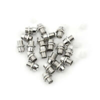 10Pcs 5mm Metal LED Light Emitting Diode Holder Mount Panel DisplaFHFS