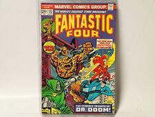 FANTASTIC FOUR #143 Marvel Comics 1974 FN- vs Dr. Doom!  FL