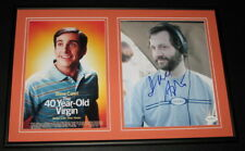 Judd Apatow Signed Framed 12x18 Photo Display JSA 40 Year Old Virgin