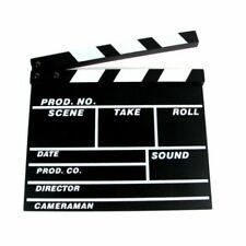 Ex-Pro Clapper Board TV Film Movie - Black
