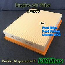 Af6272 For 2016-2018 Mkx 2013-2019 Ford Fusion Engine Air Filter Us Seller!