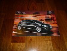 Opel Astra Prospekt 08/2009