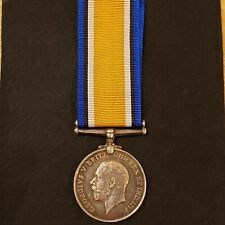 WWI British War Medal 1914-1918 silver, named, Royal Army Medical Corps