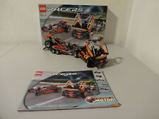 (Go) Lego Racers 8473 Nitro Race Team with Original Packaging & Ba 100% Complete