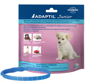 ADAPTIL® Junior Halsband (23,30€/1Stk) Welpen stressfrei ins Leben! Lern Plus