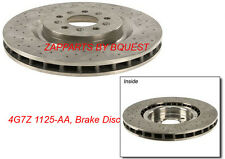 4G7Z 1125-AA, FORD GT BRAKE DISC SET FRONT 2005-2006