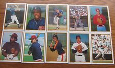 Lot of 1987 Topps All Star Set Collector's Edition 20 cards total harder to find
