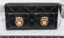 Marc Jacobs Black Patent Leather Double Pushlock tthc