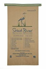 Great River Organic Milling Organic Specialty Flour Buckwheat Wheat 50 LB.