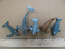 AAA Safari 1990 1991 Blue Whale Humpback Sperm Gray Walrus Animal Sea Toys