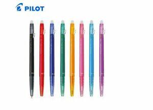 Pilot FriXion CLICKER Ball Slim 0.38mm Erasable Rollerball Gel Ink multi