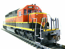 HO Scale Model Railroad Trains Layout Bachmann BNSF SD-40 DCC Equiped Locomotive