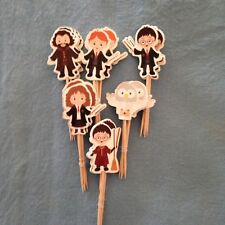 Cupcake Cake Toppers Harry Potter 24pcs