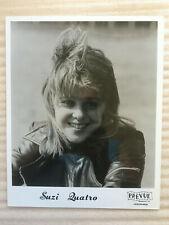 Suzi Quatro #4 original vintage press headshot photo