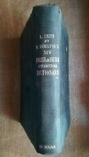 1860 DICTIONNAIRE: Dictionnaire anglais / français, par SMITH et HAMILTON - 8038