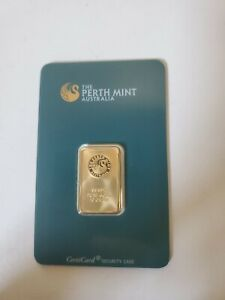 10 gram Gold Bar Perth Mint - 99.99 Fine in Assay