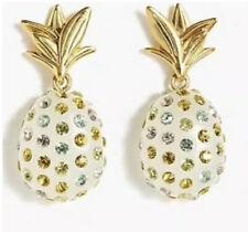 NWT J CREW studded pineapple earrings