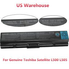 Genuine Original PA3534U-1BRS Battery for Toshiba Satellite L500 L505 A505 A200