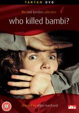 DVD:WHO KILLED BAMBI? - NEW Region 2 UK