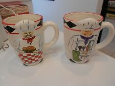 """chef mugs-raised image (2) by jic-vg+ condition-5"""" high-two designs"""