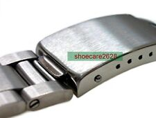 19mm Straight End Stainless Steel Replacement Bracelet Watchband For 1500