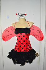 Sexy Ladybug Cosplay Theater Role Play Halloween Costume Adult Small S