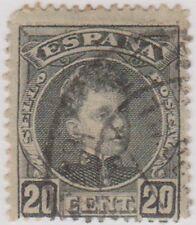 Stamp(SP43) 1900 Spain 20c Black ow298