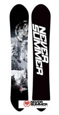 Never Summer Summit 172 Snowboard handmade in USA Freeride Powder Board