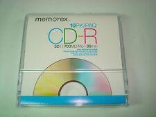 9 count Memorex CD-R 700MB/Mo Blank Disc